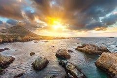 Big Sur rocks Royalty Free Stock Photo