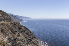 Big Sur Rugged California Coast Stock Photo