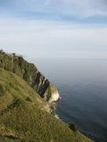 Big Sur's Steep Coastline, CA, USA. The steep cliffs of Big Sur, CA, USA Stock Photography