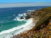 Big Sur in the Summer Stock Image