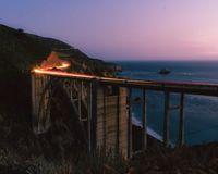 Big Sur Sunset royalty free stock images