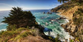 Big Sur USA royalty free stock image