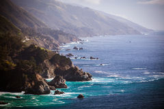 Big Sur View Along The Pacific Coastline Stock Images