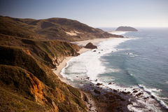Big Sur View Out To Sea Royalty Free Stock Photo