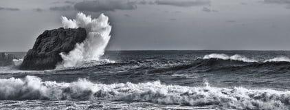 Big Sur wave Royalty Free Stock Images