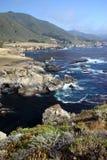 big sur wybrzeże obrazy stock