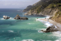 big sur wybrzeże zdjęcie stock
