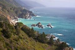 big sur wybrzeże Fotografia Royalty Free