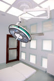 Big surgical lamp Stock Photo