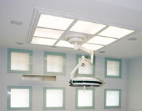 Big surgical lamp Royalty Free Stock Photography