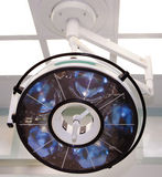 Big surgical lamp Stock Images