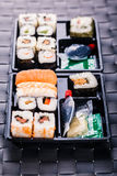 Big sushi box Stock Photos