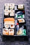 Big sushi box Stock Photos
