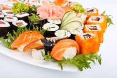Big sushi set Royalty Free Stock Photos