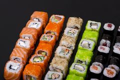 japanese rolls Stock Images