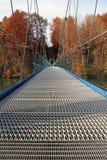 The big suspension bridge Royalty Free Stock Photo