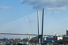 Big Suspension Bridge Stock Images