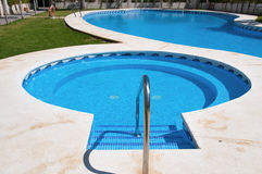 Big swimming pool Stock Photo