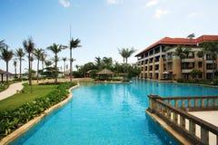 Big Swimming Pool royalty free stock images