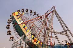 Big swings/giant wheel in Surajkund Royalty Free Stock Images