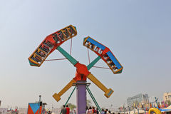 Big swings/giant wheel in Surajkund Royalty Free Stock Photography