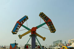 Big swings/giant wheel in Surajkund Royalty Free Stock Photos