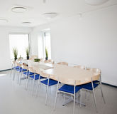 Big table for 13 people Royalty Free Stock Photos