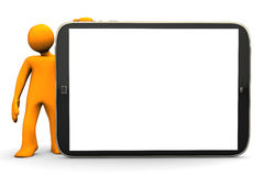 Big Tablet-PC Royalty Free Stock Image