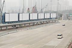 Big Tall Billboard on road. Big Tall Billboard on the road Stock Photography