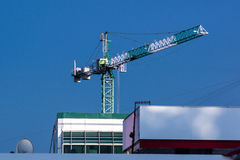 Big tall crane Royalty Free Stock Photos