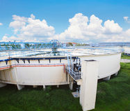 Big tank of water supply in metropolitan water work industry pla Stock Photo