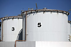 Big tanks Stock Photo
