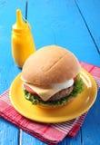 Big tasty burger Royalty Free Stock Image
