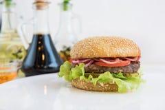 Big tasty burger Stock Photo