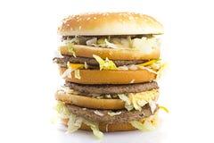 Big Tasty Hamburger Royalty Free Stock Photo