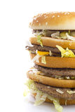 Big Tasty Hamburger Stock Photography