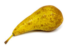 Big tasty pear isolated Royalty Free Stock Photography