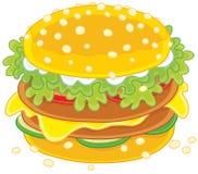 Big tasty sandwich Stock Image