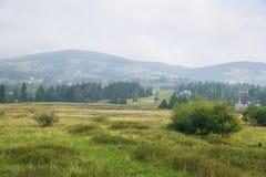 Big Tatry at Poland and Slovakia. Stock Photo