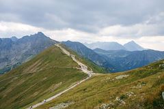 Big Tatry at Poland and Slovakia. Royalty Free Stock Photo