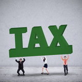 A big TAX Stock Photo