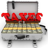 Big taxes Stock Images