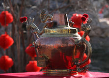The big teapot Stock Photography