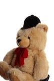 Big teddy riding bear Stock Image
