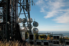 Big television tower Royalty Free Stock Images