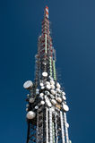 Big television tower Royalty Free Stock Photo