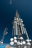 Big television tower Royalty Free Stock Photography