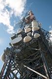Big television tower Stock Photos