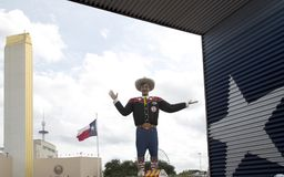 Big Tex at State Fair Texas USA. Big Tex  at State Fair Texas , Fair Park of city Dallas USA 2017 Royalty Free Stock Image