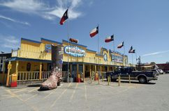 The Big Texan Steak Ranch. Is a popular restaurant and tourist attraction in Amarillo, Texas. It first opened on historic Route 66 and is best known for its 72 Royalty Free Stock Photos